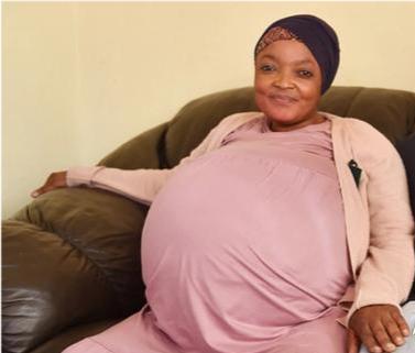 南非一女子一胎生10个,不是我夸张,这是真的!
